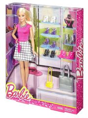 Кукла Барби Блондинка Модная обувь