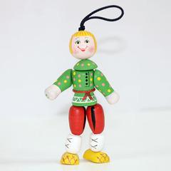 Деревянная игрушка с подвесом