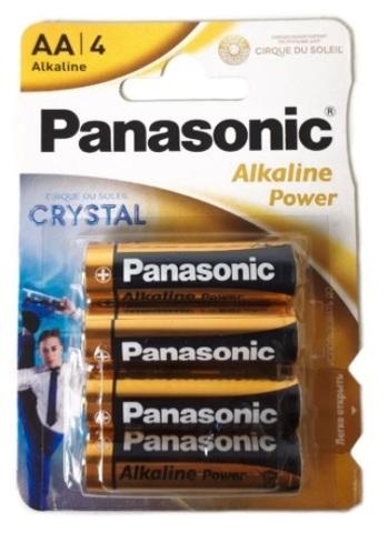 Батарейка PANASONIK LR06 Alkaline Power BL4 (48)