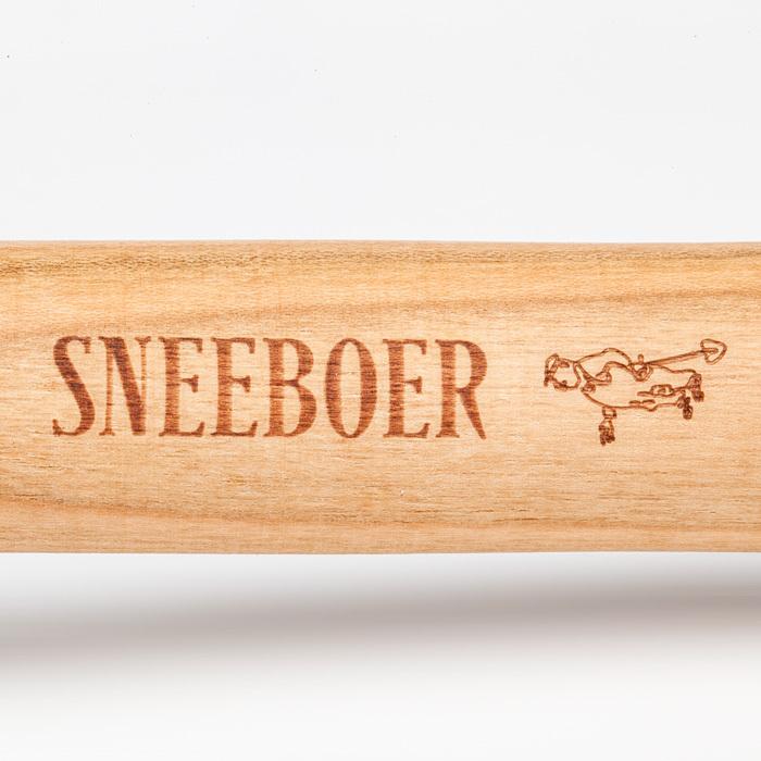 Вилка садовая прополочная в подарочной коробке Sneeboer, рукоятка из вишни