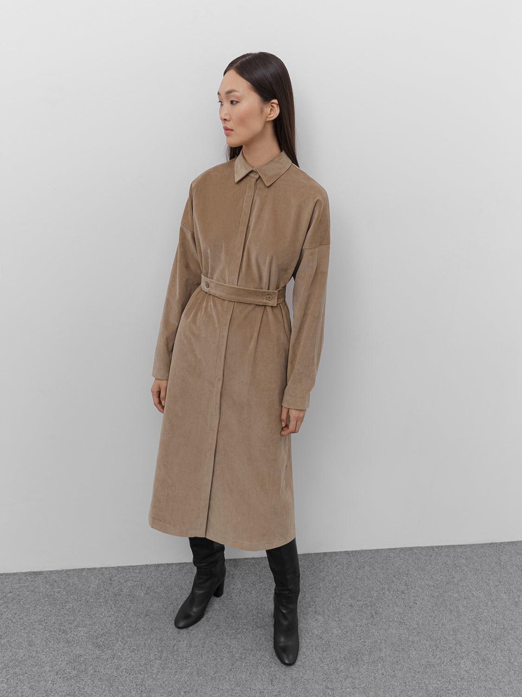 Платье Tilda с защипами на рукавах