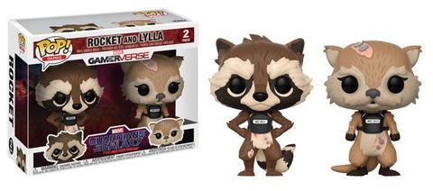 Фигурка Funko POP! Bobble 2-Pack: Marvel: GOTG TT: Rocket & Lylla 23212
