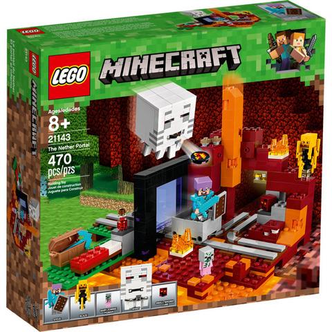 LEGO Minecraft: Портал в Подземелье 21143 — The Nether Portal — Лего Майнкрафт