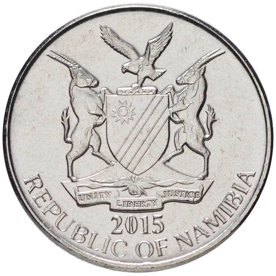 5 центов. Намибия. 2015 год. UNC