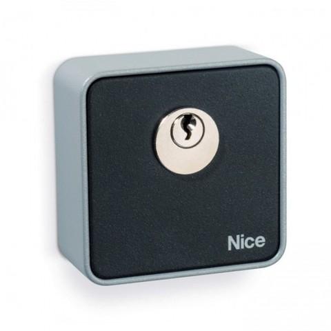 Переключатель NICE EKS с ключом для наружной установки, стандартный цилиндр