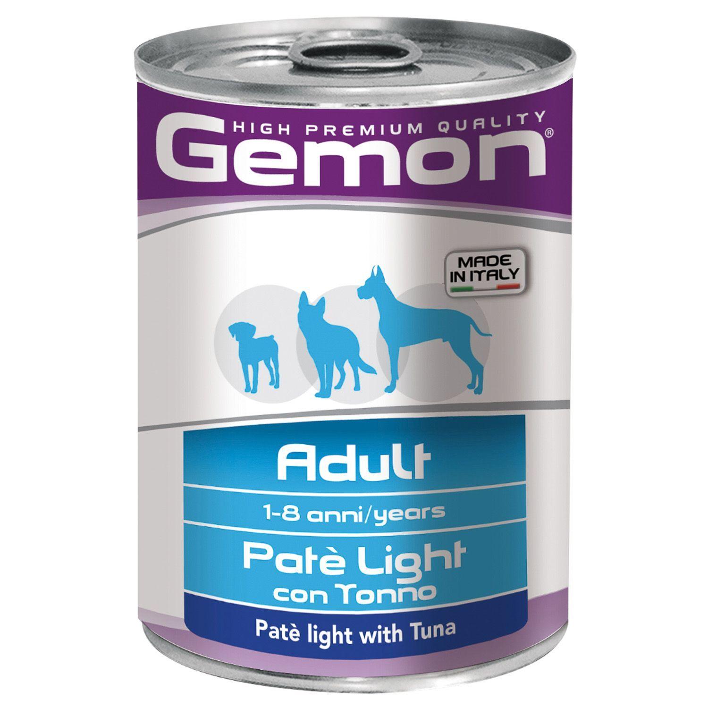 Gemon Консервы для собак Gemon Dog Light облегченный паштет тунец 70387842_1.jpeg