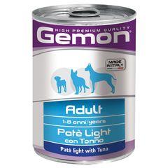 Консервы для собак Gemon Dog Light облегченный паштет тунец