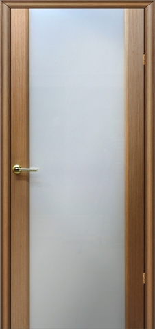 Дверь Модерн (светлый дуб, остекленная шпонированная), фабрика LiGa