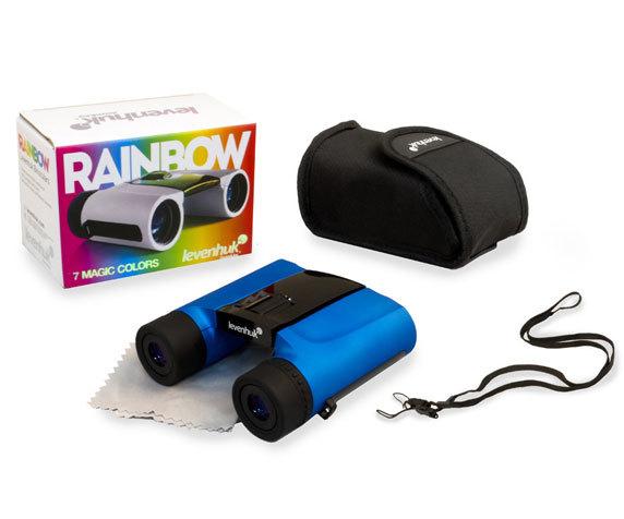 Комплект упаковки бинокля Rainbow 8 25, черно-синий