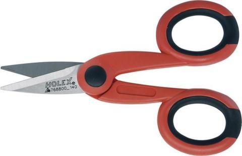 Ножницы электрика с 2-компонент. ручками 140 мм