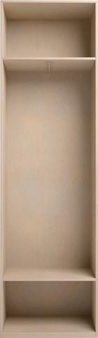 Шкаф для одежды Скандинавия-Люкс 44 с зеркалом Ижмебель сахара