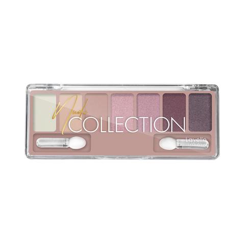 LavelleCollection Тени для век NUDE collection  ES-30 тон 03 розово-лиловый нюд