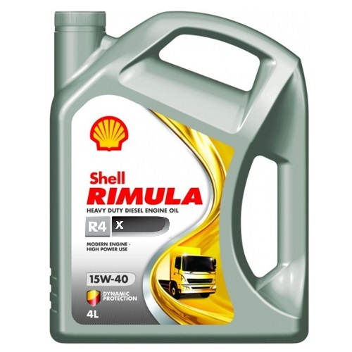 Shell Rimula R4 X 15W40 Минеральное дизельное моторное масло