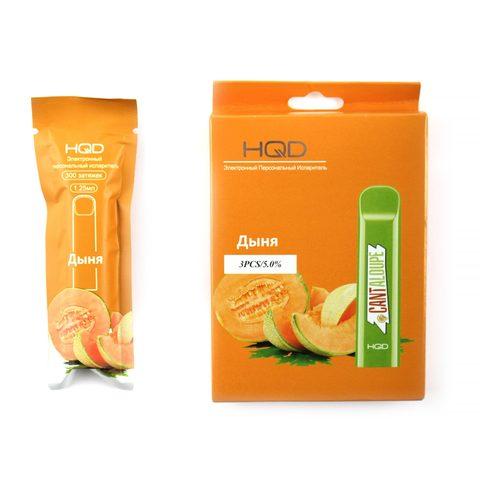Одноразовая электронная сигарета HQD Cantaloupe (Дыня)