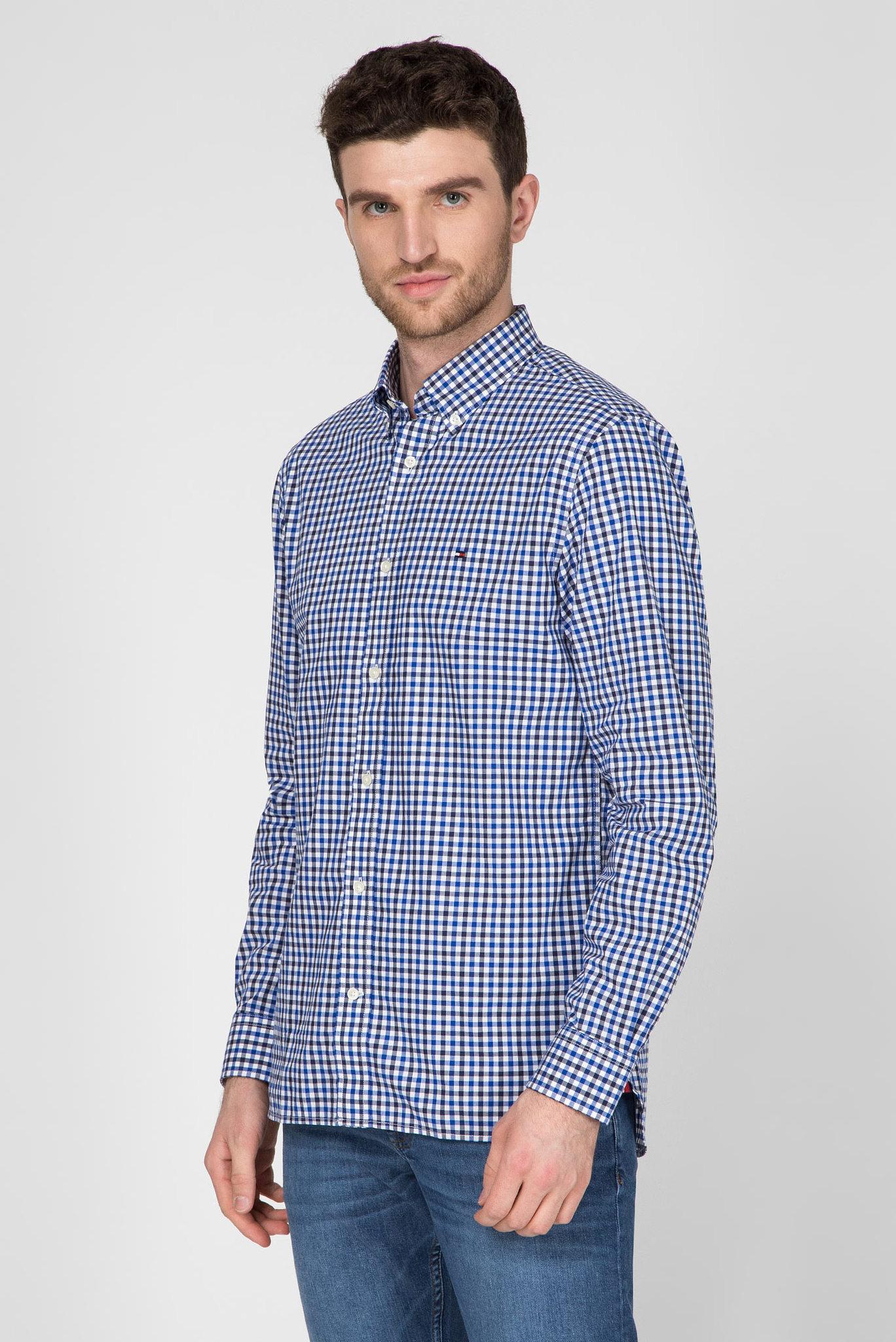 Мужская рубашка в клетку FLEX MULTI GINGHAM Tommy Hilfiger