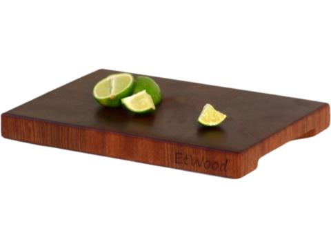 деревянная торцевая разделочная доска сапеле