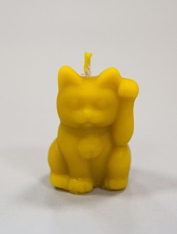 Свеча декоративная Манэки-Нэко, 4 см
