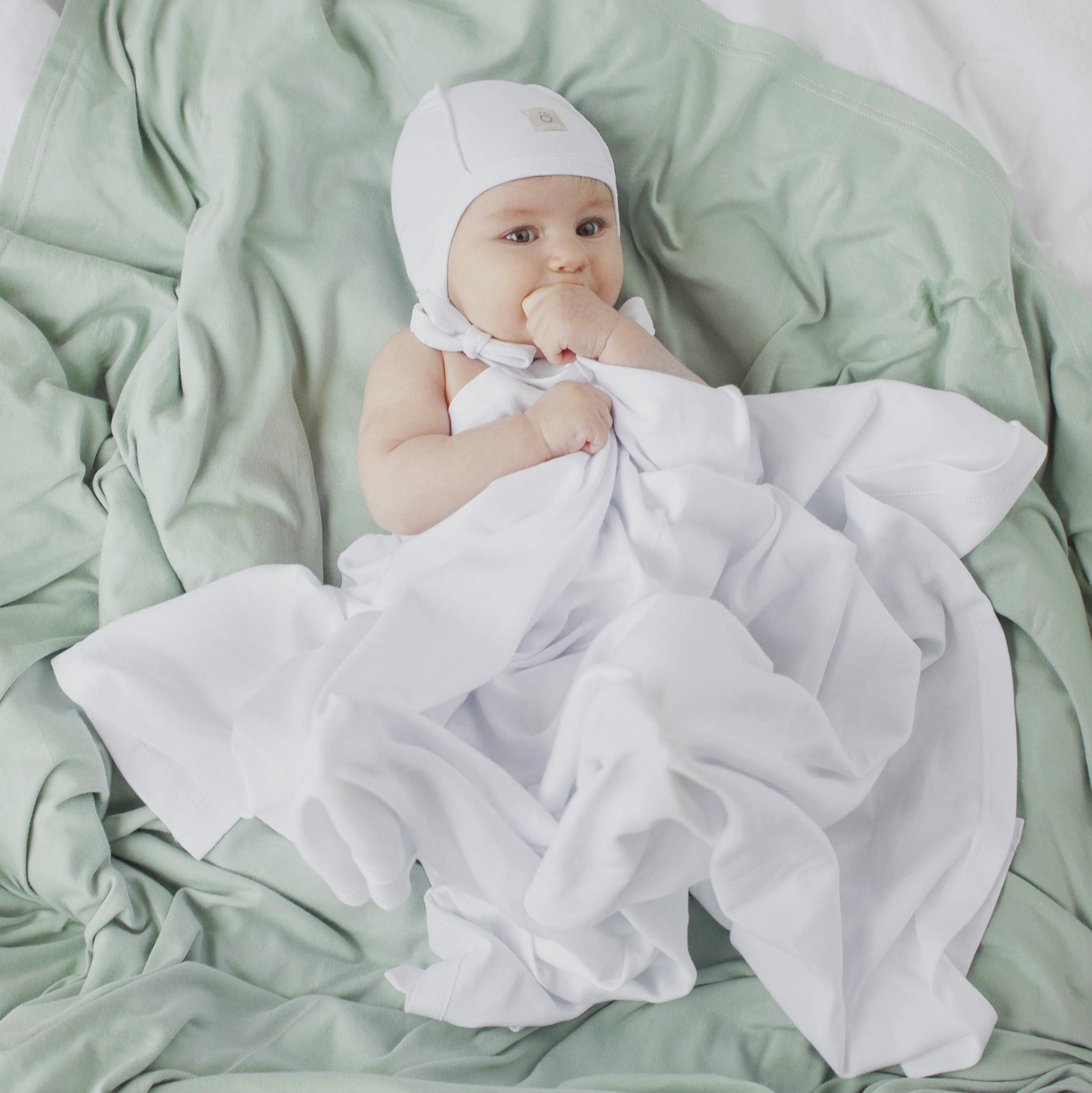 Плед-пелёнка Mjölk White