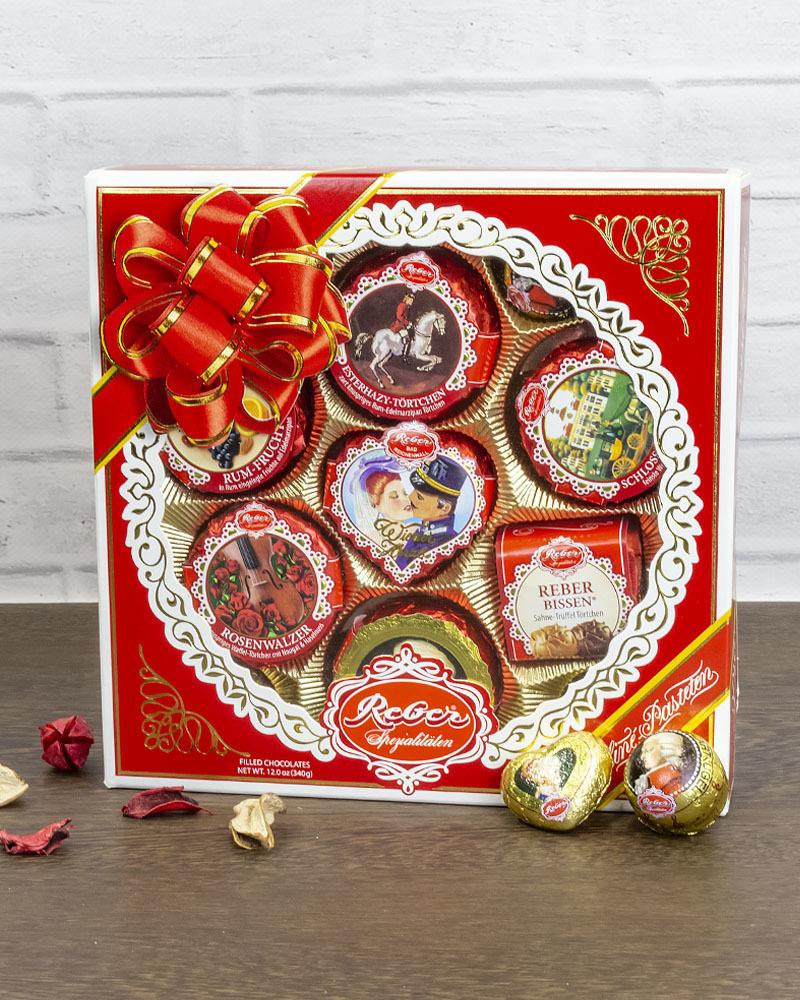 Шоколадные Конфеты Reber Patrizier Ассорти 340 г