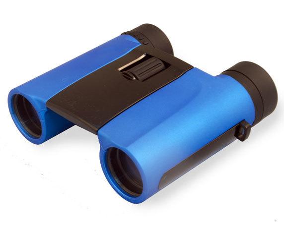 Компактный бинокль Levenhuk Rainbow 8 25 ROOF, синего цвета