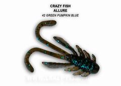 Силикон CRAZY FISH ALLURE 1,6  23-40-42-6