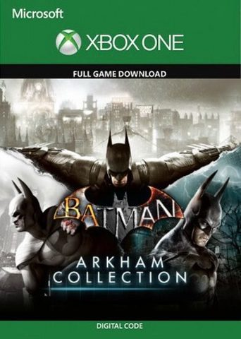Batman: Коллекция Аркхема (Xbox One/Series S/X, цифровой ключ, русские субтитры)