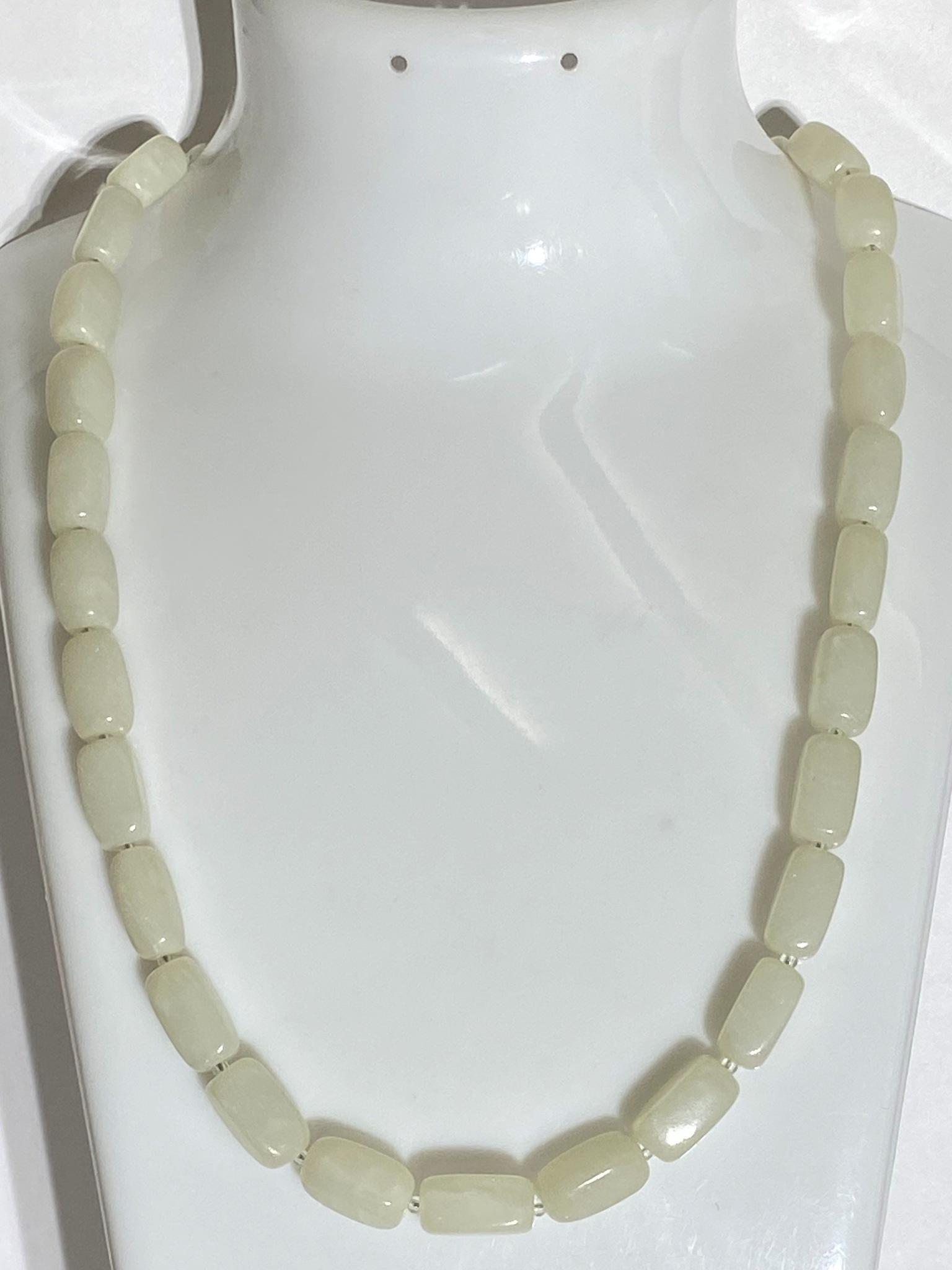 Нефрит К (бусы из натуральных камней)