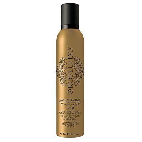 OROFLUIDO: Мусс для укладки кудрявых волос (Curly Mousse Strong Hold), 300мл