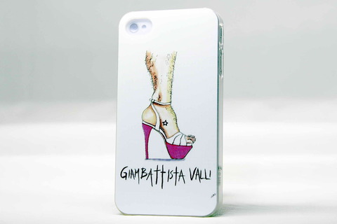 Чехол Joke brands для iPhone 4, 4s (Giambattista Valli)