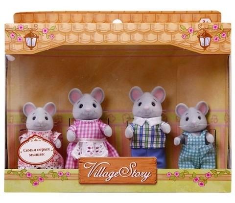 Семья серых мышек Village Story VS_106