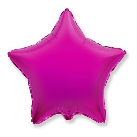 Звезда из фольги Пурпурная (46 см)