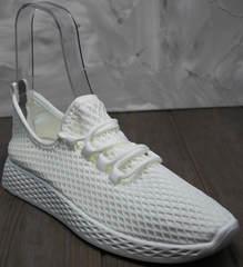 Чисто белые кроссовки женские Small Swan NB283-2 All White.