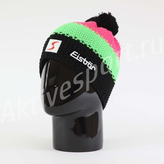 Шапка с помпоном Eisbar Star Neon Pompon SP 909