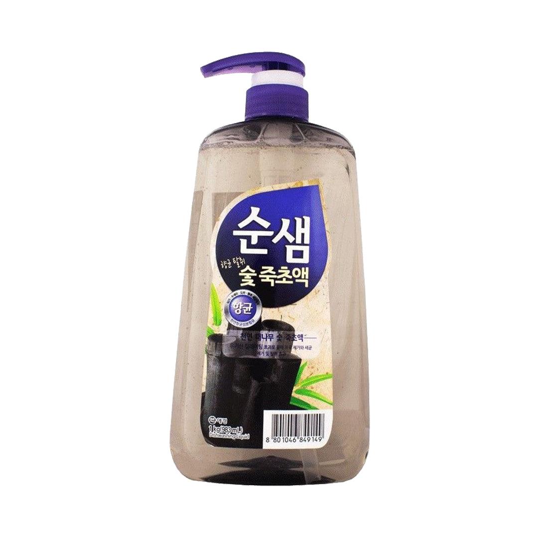 Soonsaem Средство для мытья посуды СУНСЭМ Бамбуковый уголь 1 кг