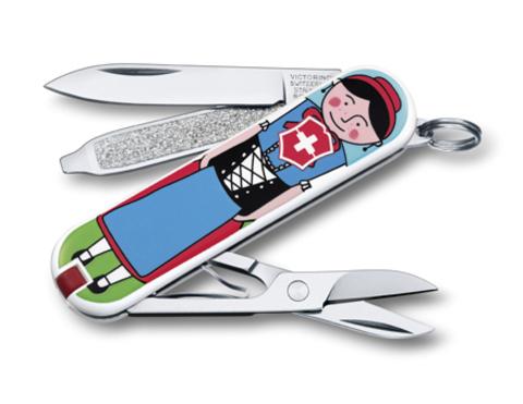 Нож-брелок Victorinox Classic LE 2014, 58 мм, 7 функций,