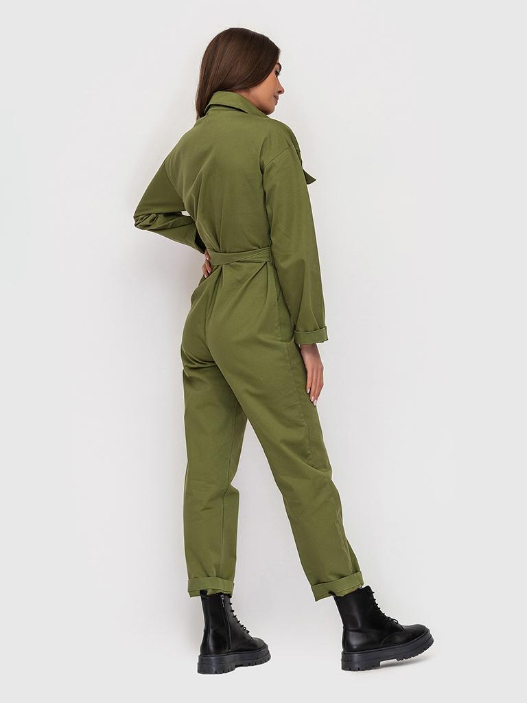 Комбинезон оливковый YOS от украинского бренда Your Own Style