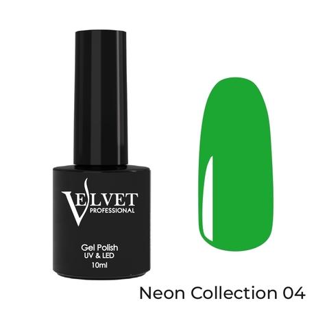 Гель-лак VELVET Neon Collection 04 10мл