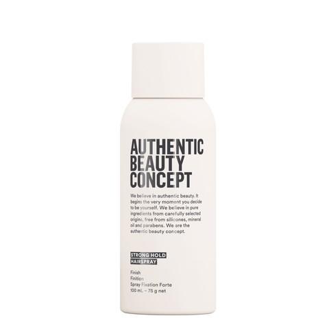 AUTHENTIC BEAUTY CONCEPT Лак для сильной фиксации волос Strong Hold (travel)