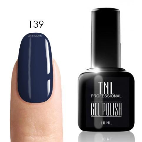 TNL Classic TNL, Гель-лак № 139 - прусский голубой (10 мл) 139.jpg