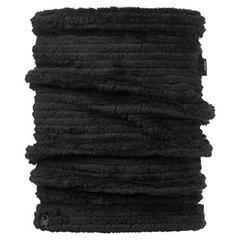 Теплый шарф-труба флис Buff Solid Graphite Black