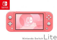 Игровая консоль Nintendo Switch Lite (цвет кораллово-розовый)