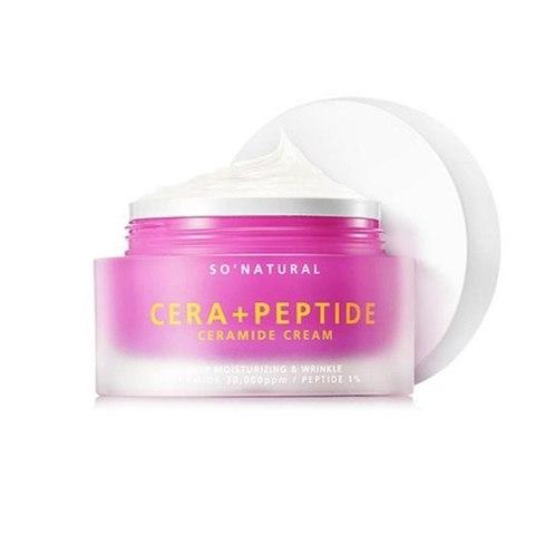 So Natural Cera+ Peptide Ceramide Cream