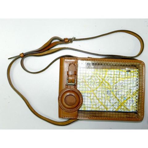 Прозрачная сумка (планшет) для карт с гнездом для компаса капитана Адрианова