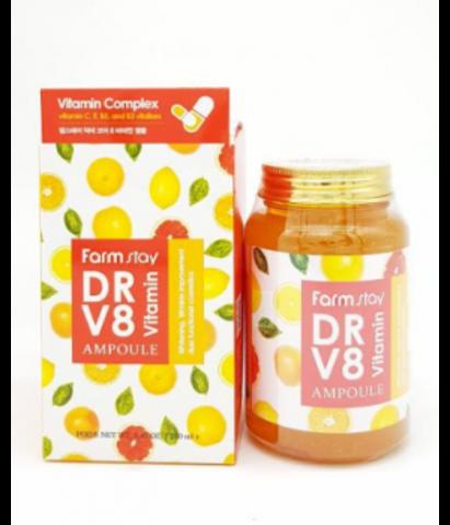 Farm Stay DR-V8 Vitamin Ampoule многофункциональная витаминная сыворотка