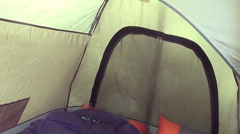 Палатка Canadian Camper RINO 3, второй вход.