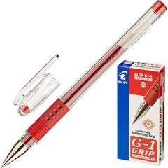 Ручка гелевая Pilot BLGP-G1-5 красная (толщина линии 0.3 мм)