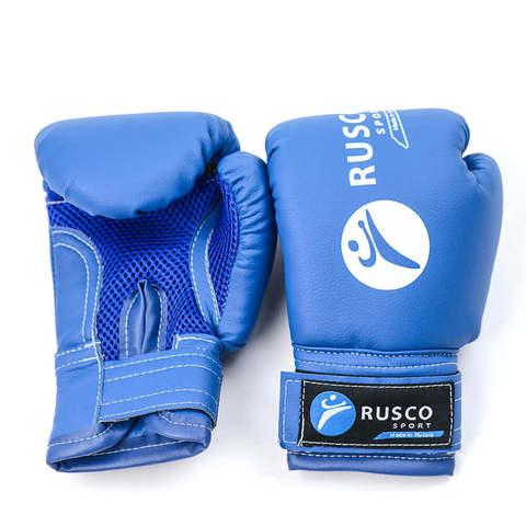 Перчатки боксерские Rusco синие