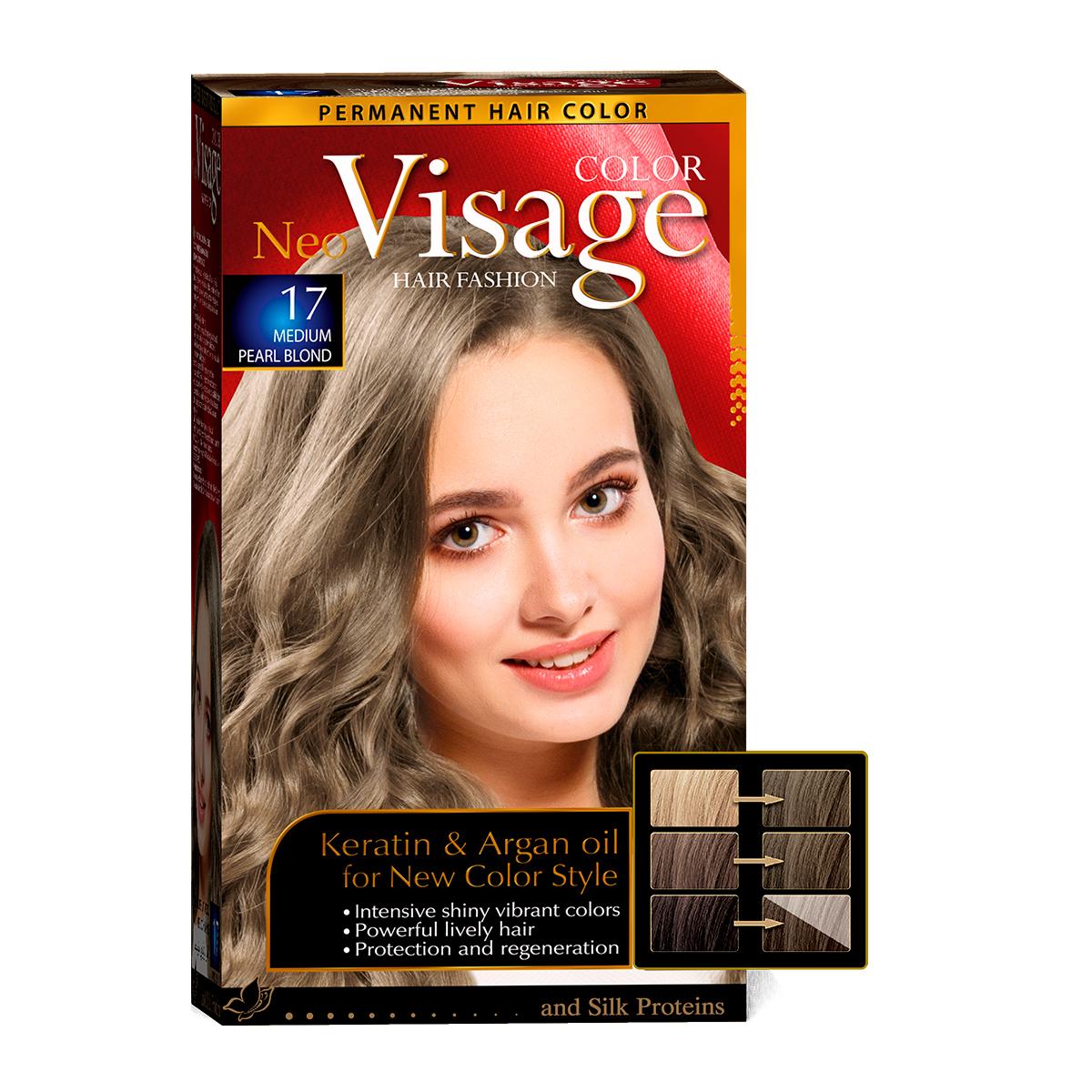 17 Средне-перламутровый русый / Medium Pearl Blond