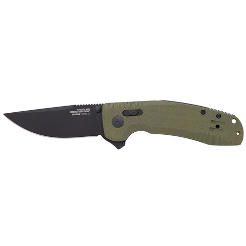 Нож SOG модель 12-38-02-57 SOG-TAC XR OD Green