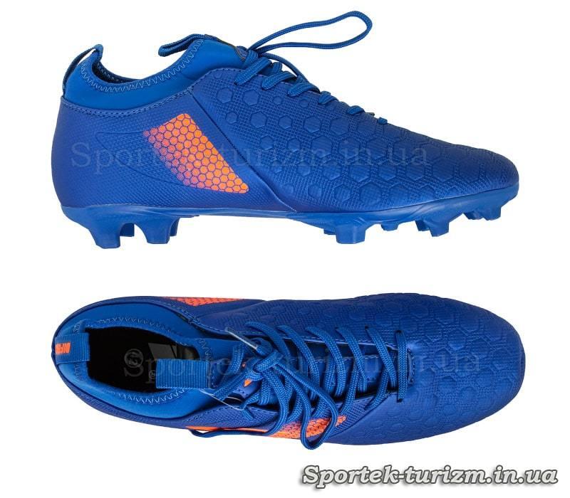 Бутсы футбольные (копы) с носком OWAXX 180304-2 размер 40-45